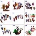 Variedad opcional Mundo Marionetas de Dedo de Cuentos de Hadas de Dibujos Animados y Animales de Peluche Suave Juguete de Peluche Baby Doll Juguetes Educativa Mano
