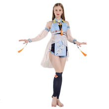 Brdwn Vocaloid Womens Luo Tianyi Cosplay Costume Ancient Chinese Style Dress Suit