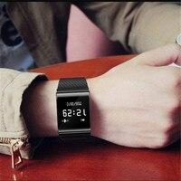 Smart bracelet sport fitness wristband for women men blood pressure blood oxygen heart rate pedometer waterproof