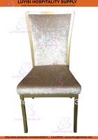 Stackabe Banquet Chair LYS6011 5pcs Stack 600pcs 40HQ Comfortable Seat Back Fully Assembled