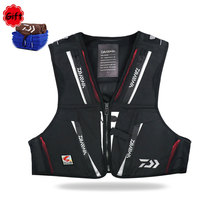 DAIWA Drop Shipping Men DV 1104 Waterproof Fishing Vest Outdoors Breathable Vest Multi function Multi Pocket Sports Leisure Vest