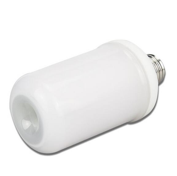 E27 E26 2835 LED Flame Effect Fire Light Bulbs 7W Creative Lights Flickering Emulation Vintage Atmosphere Decorative Lamp