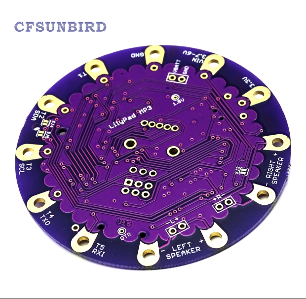 ATmega328P MP3 player VS1053 empty PCB development board-in Modules from Consumer Electronics on Aliexpress.com | Alibaba Group