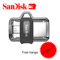SanDisk 128 ГБ SDDD3 Extreme high speed OTG USB3.0 Двойной OTG USB Flash Drive 64 ГБ Pen Drives 16 ГБ USB 3.0 150 М/С PenDrives 32 ГБ