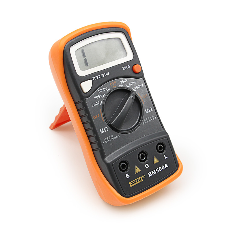 NEW BM500A Resistance Direct deal 1000V BM500A 1999M Digital Insulation Resistance Tester Meter Megohmmeter Megger #D6309# цена