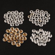 JX-LCLYL 100pcs 25 Sets Stainless Steel Fastener Snap Press Stud Cap Button  Boat Canvas 599e7d541a97