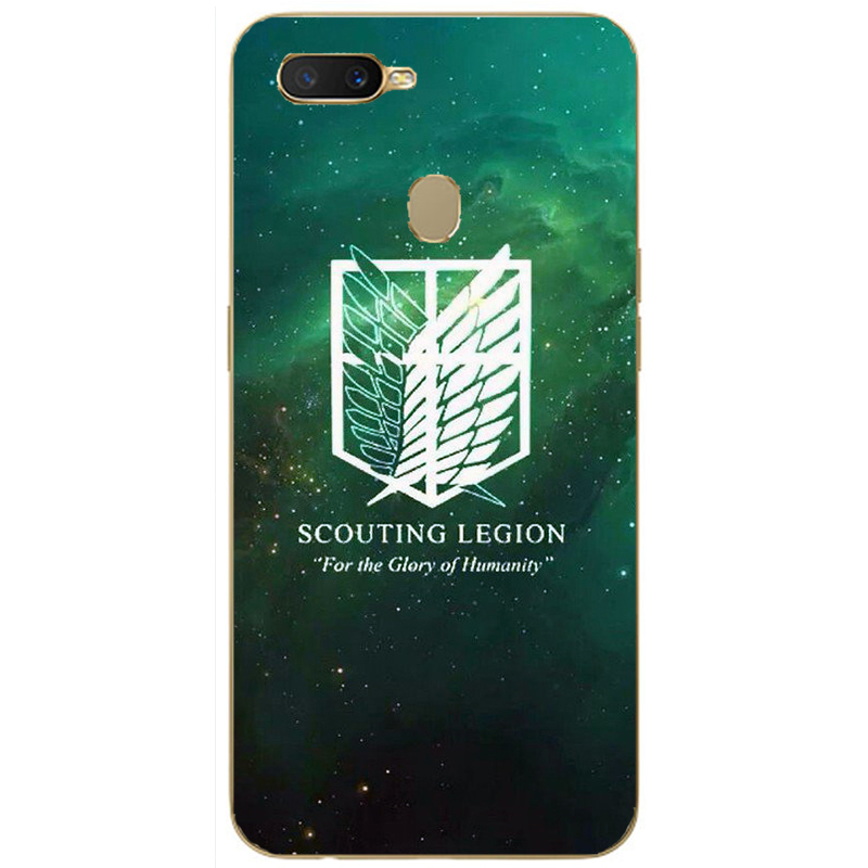 Attack on Titan Japanese Anime Manga Cartoon Painting Case For Oppo Realme C1 C2 U1 1 2 3 Pro X Lite Mobile Phone Printed Cover