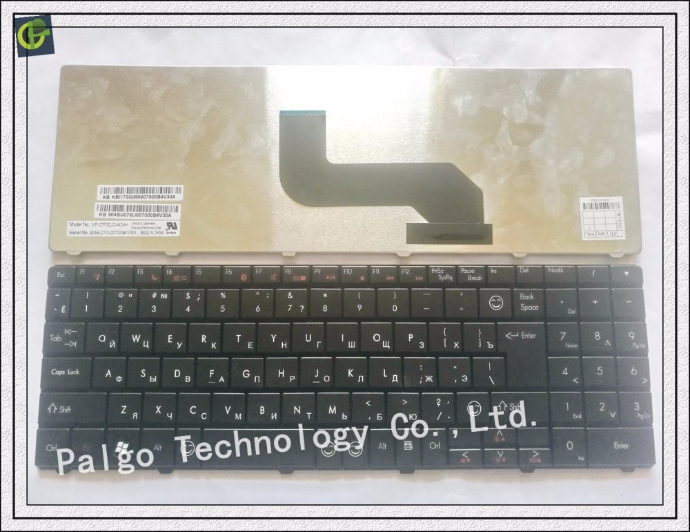 Russian RU Keyboard for Packard Bell TR81 TR82 TR85 TR86 TR87 MS2273 MS2274 MS2285 MS2288 NSK-AL20G NSK-AL21A NSK-AL21D Black