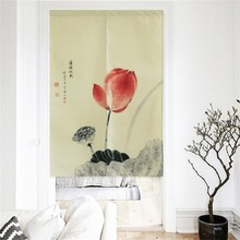 XIAOKENAI 85x160cm 85x150cm Traditional Chinese Decorative Door Curtain Doorway Curtains Home Decor Divider For Bedroom Kitchen