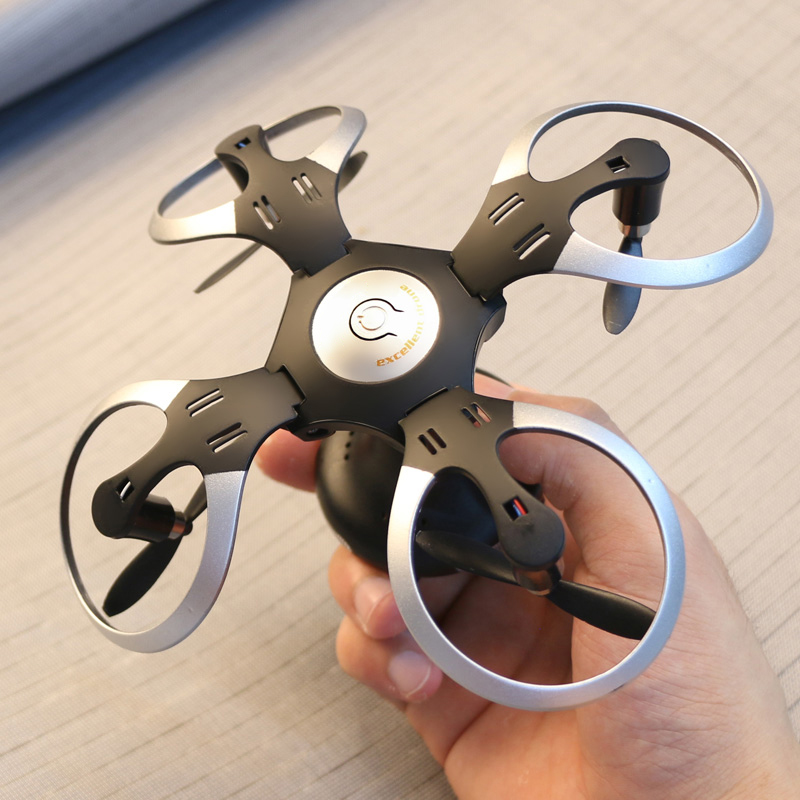 2.4G UFO RC Ball Shaped Quadcopter Foldable Mini Pocket RC Drone Dron WiFi FPV Camera Flying Remote Control Helicopter Toy