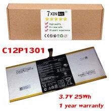 Лидер продаж 3.7 В 25Wh C12P1301 Батарея для Asus MemoPad 10.1 «C12P1301 ноутбука