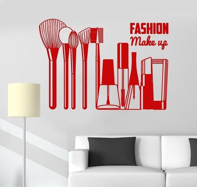 Vincy tường táo thời trang thẩm Cô Gái Mỹ phẩm dán tường trang trí làm đẹp cửa sổ tham khảo trang trí 2MY4