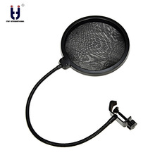 Original Brand Metal Extendable Recording Microphone Stand Tripod Boom Scissor Arm Holder With Microphone Clip Mounting Clamp цена в Москве и Питере