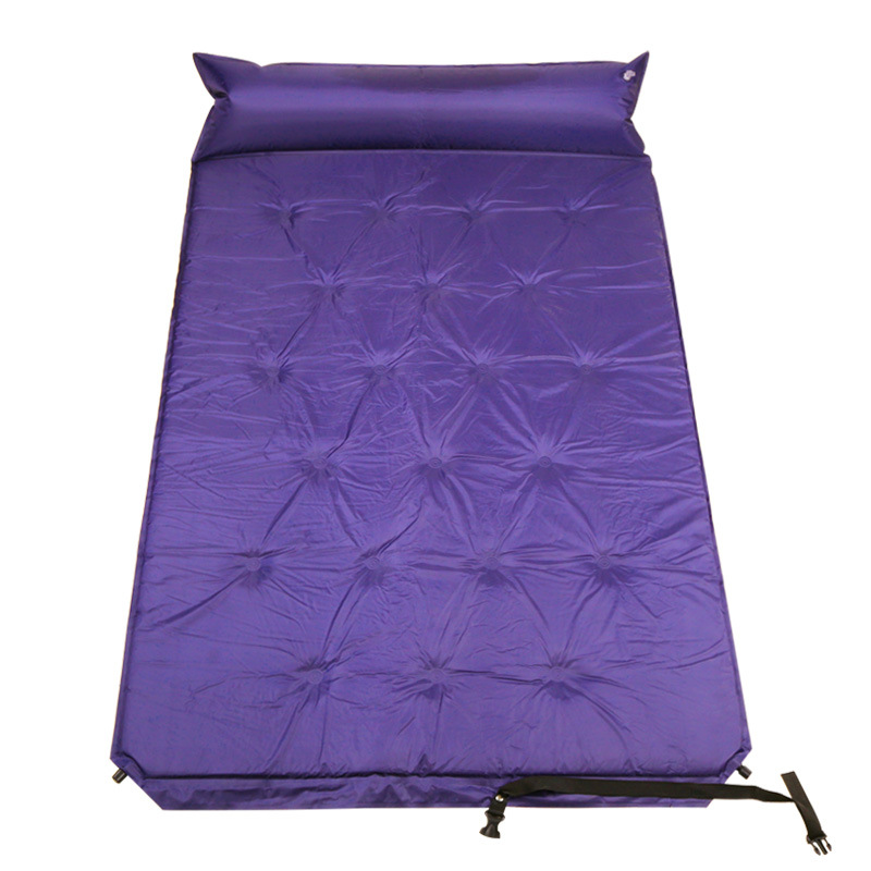 Camping Tent Sleeping Mat Automatically Inflatable Cushion Pad Single Air Mattress Damp-proof Double Mattress Camping Pad Pillow hewolf double inflatable cushion air mattress outdoor beach mat camping inflatable mattress sleeping pad yoga mat with pillow