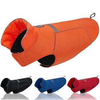 Для питомцев, зимний, теплый, одежда для собак, щенков, средних собак, больших собак, жилет, зимняя теплая куртка, одежда для катания на лыжах, водонепроницаемая одежда для маленьких собак