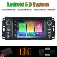 6.0 אוקטה ליבות אנדרואיד נגן DVD לרכב לקרייזלר 300C דודג 'קליבר נוקם סברינג רכב הרדיו RDS סטריאו WIFI