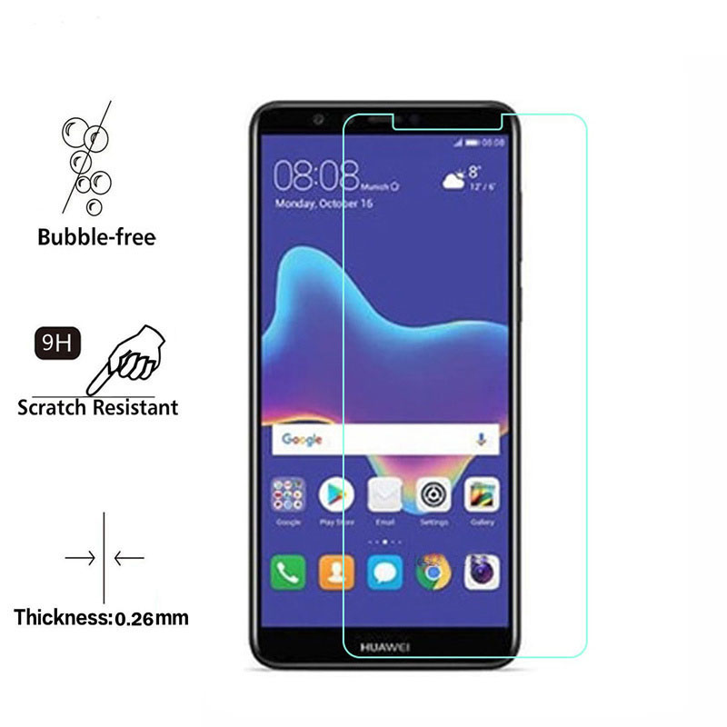 Y 9 2018 Glass Huawei Y9 2018 Screen Protector Tempered Glass Huawei Y9 2018 Glass Huawei Enjoy 8 Plus Protective Film in Phone Screen Protectors from Cellphones Telecommunications