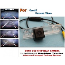 Intelligent Car Parking Camera / with Tracks Module Rear Camera CCD Night Vision For Suzuki Forenza / Reno tegral