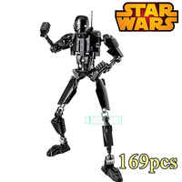 XSZ KSZ 617 Star Wars 7 Buildable Action Figure K 2SO Robot Diy Figures Educational Buiding
