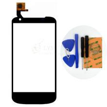 Black TP for Gigabyte GSmart GS202 Megatron Touch Screen Digitizer Glass Panel Sensor No LCD Replace Part Free Shipping+Tools
