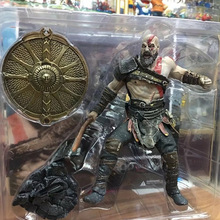 23cm NECA God of War 3 Ghost of Sparta Kratos PVC Action Figure 1/8 scale painted Collectible Model Toy Brinquedos Anime