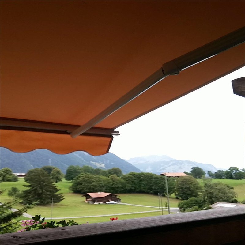 Free Shippment 2 94x2mGarden house Sun Protection Window Awning with DC118W