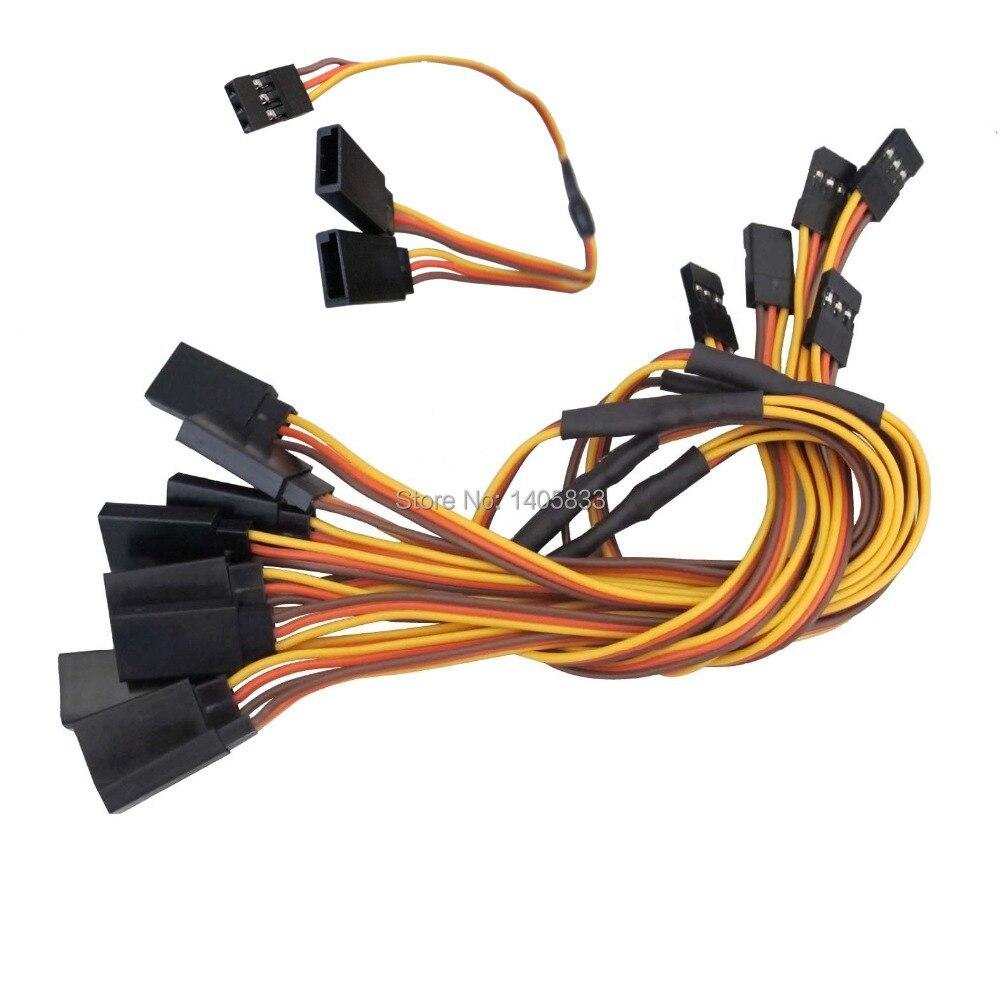 5x Новый 300 мм 12 Y Стиль серво удлинитель свинец Провода кабель JR FUTABA 26AWG
