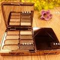 Marca 8 colores de sombra de ojos paleta de sombra de ojos paleta de maquillaje de cara de chocolate Diomond barra de maquillaje de belleza cosméticos