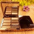 Marca 8 cores Diomond barra de chocolate paleta da sombra de olho da paleta da sombra de maquiagem rosto make up beleza cosméticos
