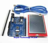 1set UNO R3 MEGA328P 1pcs 2 4 Inch TFT Touch LCD Screen Module For UNO