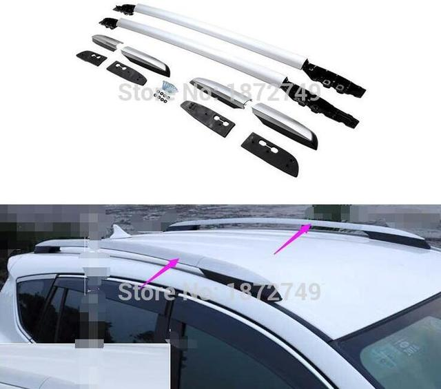 Roof Racks Aluminum alloy luggage rack Exterior parts products accessories 2014 2015 new type For Toyota RAV4