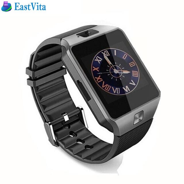EastVita 10pcs/lot DZ09 smartwatch for Apple android phone smart watch  Anti-lost support SIM/TF card MP3 pk GT08 A1 U8