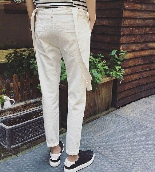 Salopette classique pour homme en jean classique pour juniors noir - Vêtements pour hommes - Photo 4
