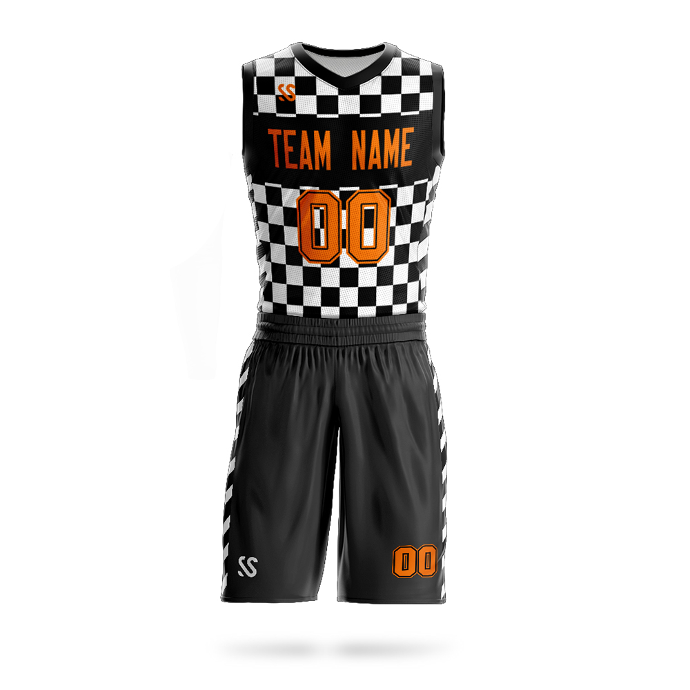 Customized team mens youth basketball set jerseys design shirts quick dry sport wear in Basketball Set from Sports Entertainment