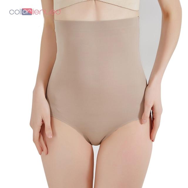 5d4f4b159 COLORIENTED Wholesale Super Stretch Tummy Control Panties High Waist Shaper  Women Body Slimming Shapewear Underwear Butt