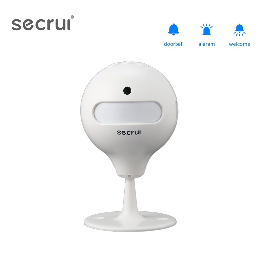Secrui Welcome Doorbell Device Shop Store Home Welcome Chime Wireless Infrared IR Motion Sensor Door Bell Alarm Entry Doorbell ks v2 welcom chime bell sensor