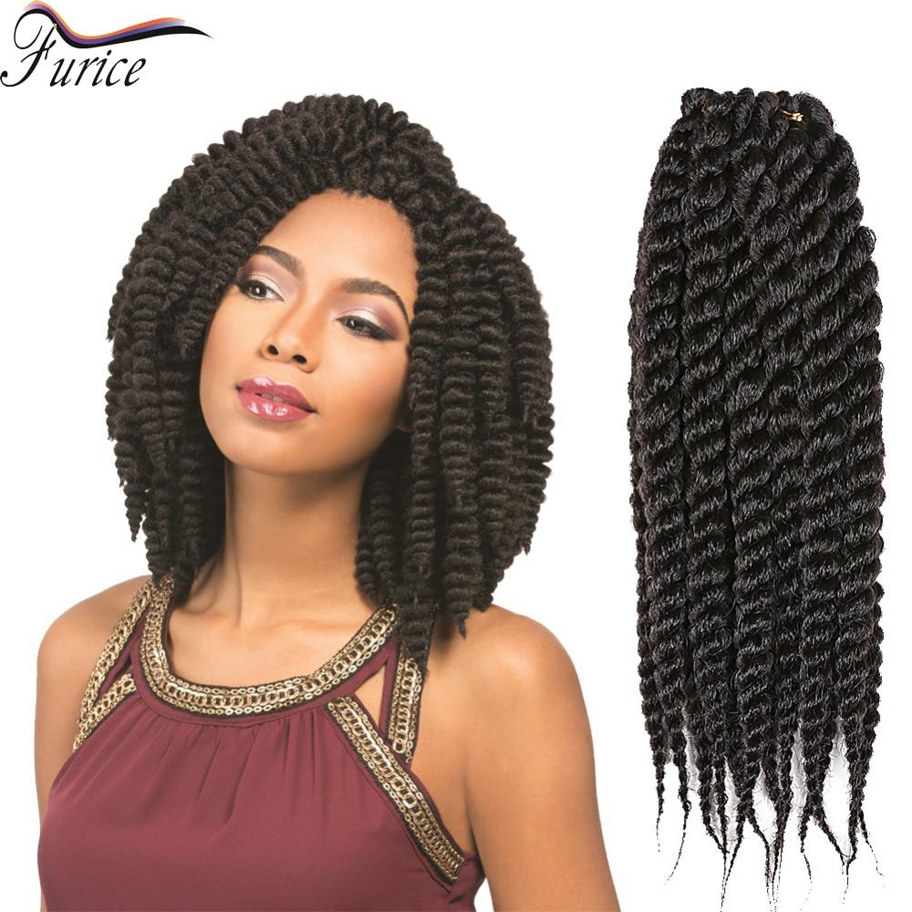 New Hair Style Bouncy Havana Mambo Twist Crochet Braids