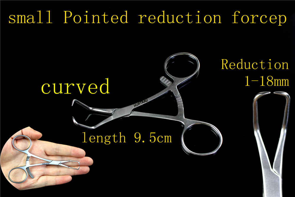 medical orthopedic instrument Elbow small Pointed reduction forceps Bone Fracture tip head reductor plier AO synthes tool medical orthopedic instrument dhs dcs 2 5 kirschner wire reduction device guide needle reset device protector ao synthes