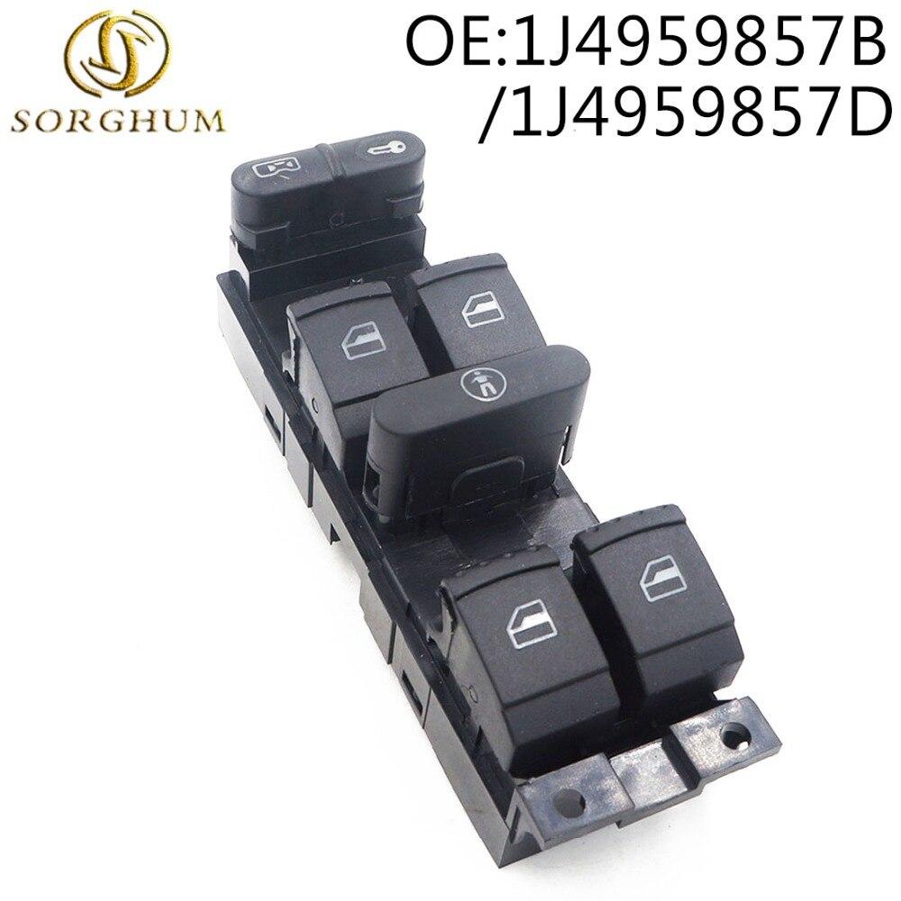 Товар 1J4959857D 1J4959857B Power Driver Side Window Switch for Bora ... 3a966e9e384