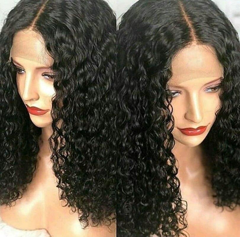 Sunnymay 180% плотность полный шнурок человеческих волос парики с ребенком волос Малайзии Virgin вьющиеся волосы парик шнурка человеческих волос от...