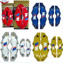 Buy KUNBABY 4 Colors Brake Caliper Cover Model 3 White M 4 Pcs Car Styling Decoration For BMW And Other Car