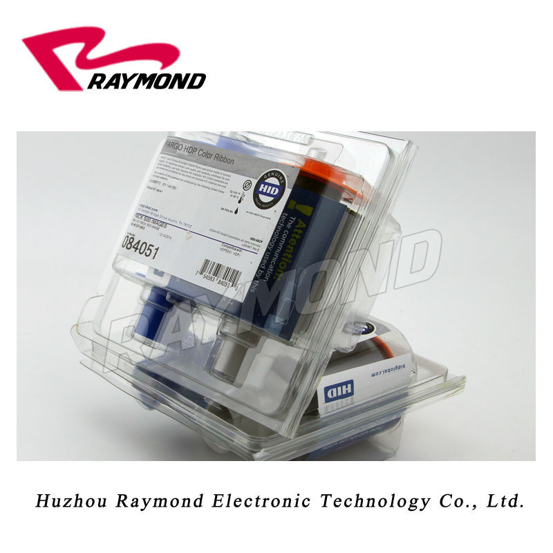 Original  HDP5000 84051 Color Ribbons,084051 YMCK 500 images ribbon