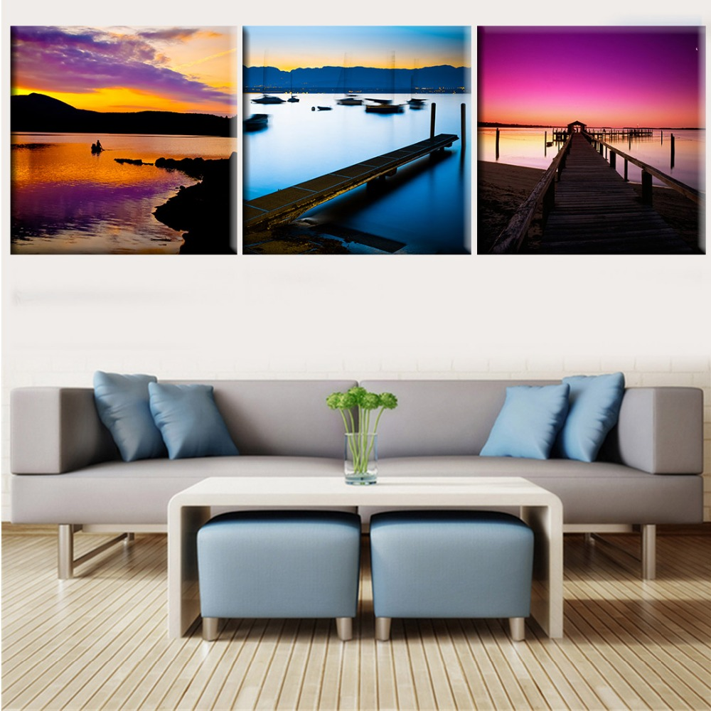 Kitchen Canvas Wall Art 3 piece canvas wall art wine promotion-shop for promotional 3