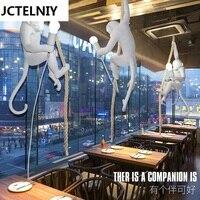 Retro Industrial Restaurant Bedroom Cafe Bar Monkey Chandelier Child Light
