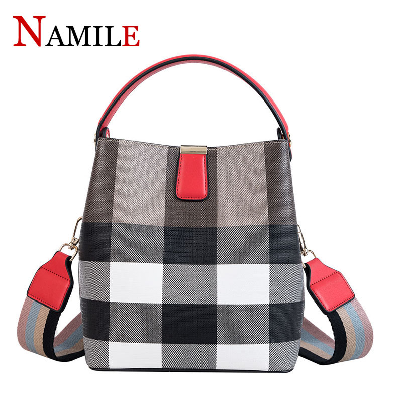 Na Mille 2019 ladies handbags fashion quality hit color square shoulder bag youth wild temperament ladies diagonal bucket bagNa Mille 2019 ladies handbags fashion quality hit color square shoulder bag youth wild temperament ladies diagonal bucket bag
