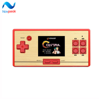 10pcs Lot Hot Sale 2 6 Inch Retro Handheld Game Console Portable Video Game Console RS