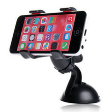 Car Mobile Phone Bracket 360 Degree ABS Suction Cup PVC Rotation Double Clip Car Support  Mobile Phone Holder Accessories стоимость