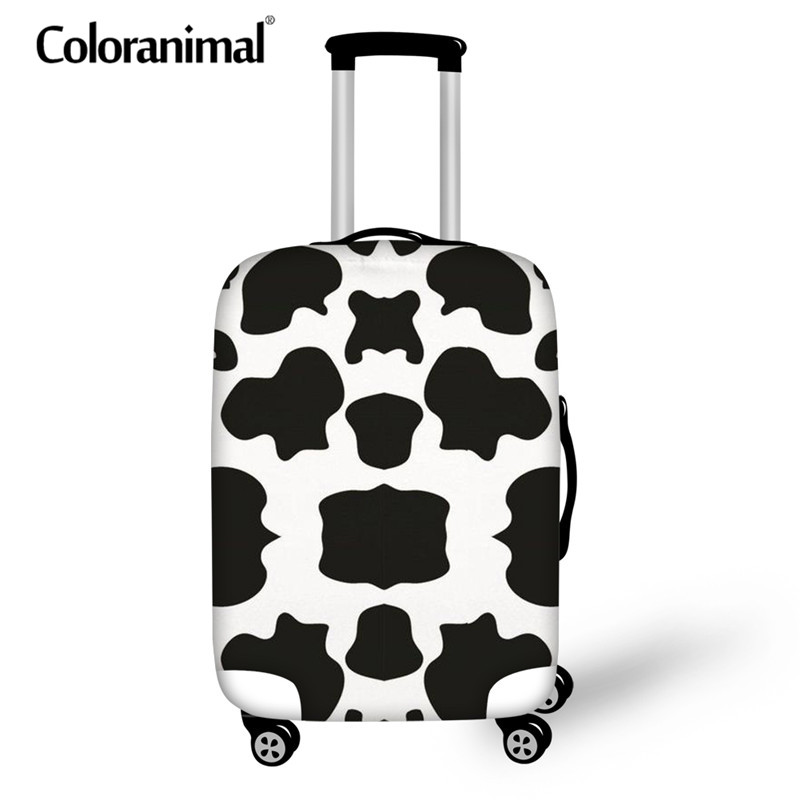 Coloranimal Trunk Case Bag Waterproof Suitcase Luggage Protective Cover Zipper 18 -30 Inch 3D Lover Print Case Trolley Covers