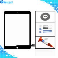 Black/White Touch Screen Digitizer Glass lens Sensor Repair parts For iPad Pro 9.7 A1673 A1674 A1675 Tablet Touch Panel