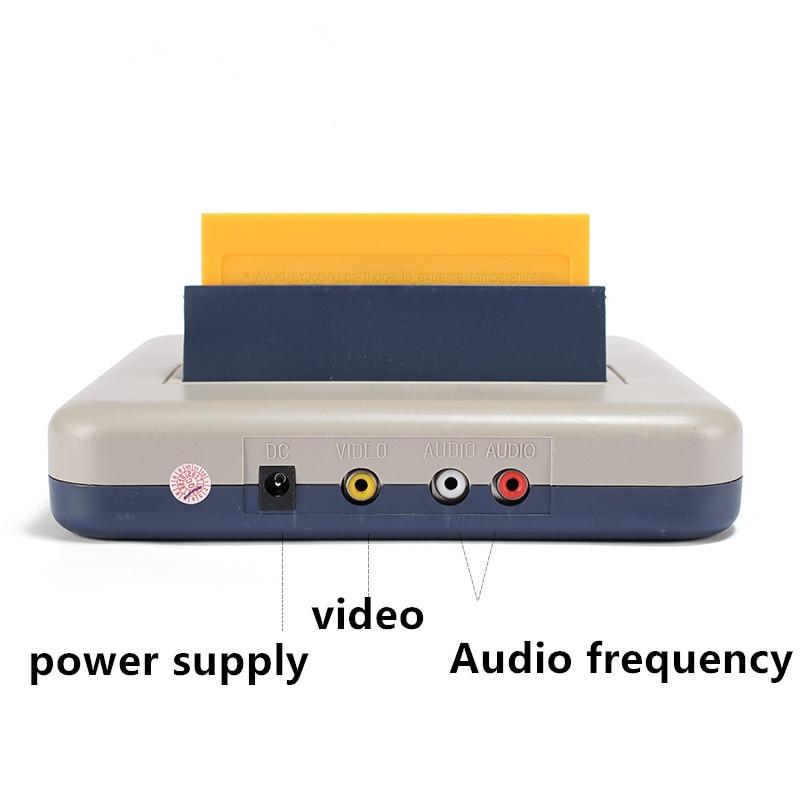 Heimvideospielkonsolen Kid D30 mit zwei Griffen 8 FC-Heimvideokarte - Spiele und Zubehör - Foto 5